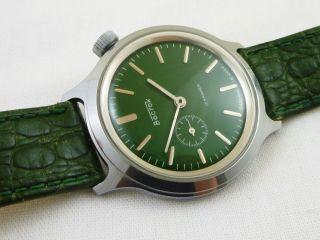 Boctok Russische Herren Armbanduhr Krokoleder Armband Bild