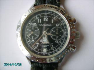 Sammlungsauflösung : Poljot Navigator Chronograph. Bild