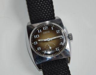 Armbanduhr Osco 15 Jewels Handaufzug Bild