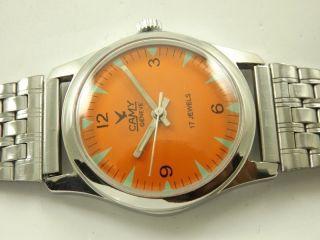 Camy Swiss Rarität Armbanduhr Handaufzug Mechanisch Vintage Sammleruhr 127 Bild