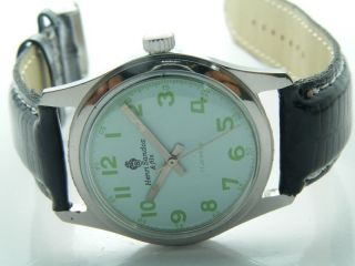 Henri Sandoz & Fils Armbanduhr Handaufzug Mechanisch Vintage Sammleruhr 121 Bild