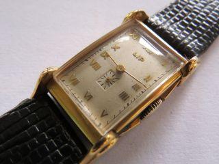 Herren Armbanduhr - Lip - T18 - Carrosse - Fankreich - Ca.  1930/40 - Bild