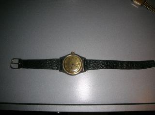 Alte Armbanduhr Ruhla Ddr Vintage Handaufzug Bild