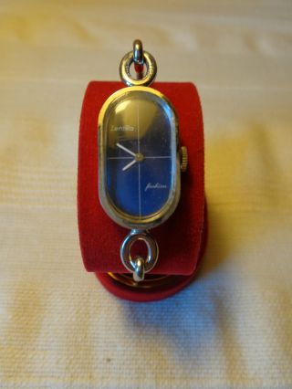 2x Damen Armbanduhren Seltene Zentra Fashion Mechan Ermex Quarz Uhr Spange Bild