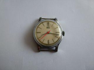 Hau Ruhla Kult Uhr Aus Der Ddr,  70er.  Kal.  Umf 44,  Sehr Selten Bild