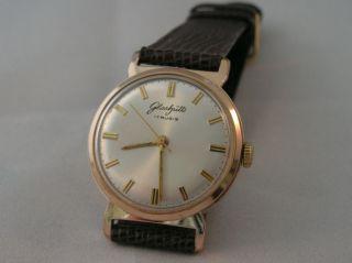 Herren Armbanduhr,  Gub,  Glashütte 70.  1,  Handaufzug.  Vintage Ddr. Bild