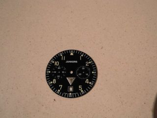 Ziffernblatt Für Junkers Mechanischer Chronograph Poljot 3133 Bild