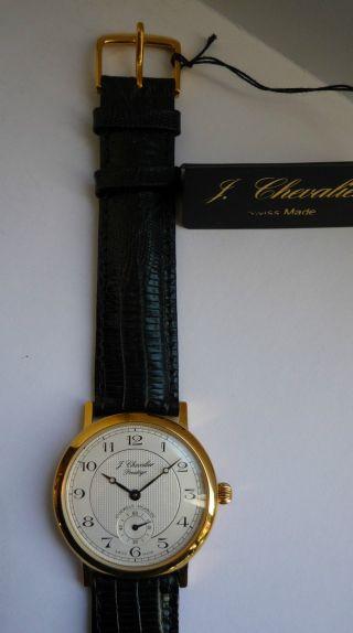 Chevalier Armbanduhr Aus Geschäftsauflösung Wie Mit Etikett Bild