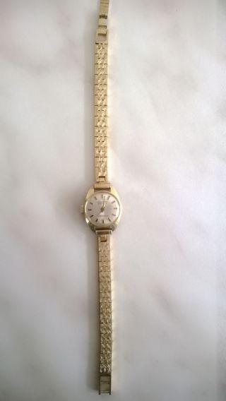 Damen Uhr Dugena Gold 585 Bild