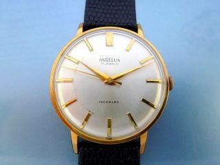 Schöne Herrenuhr Angelus Hau Handaufzug Uhr Uhren Luxusuhr Bild