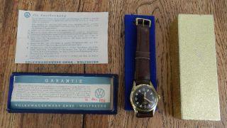 Mauthe Jubilämuns - Uhr Vw 100.  000 Km In Originalverpackung Bild