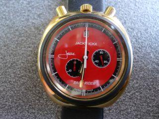 Jacky Ickx Bullhead Chronograph Esay - Rider Sorna Handaufzug Bild