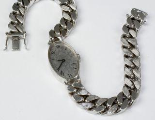 Chopard Damenuhr,  Massiv Weissgold 750/ Gewicht 54 Gramm Bild