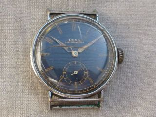 Doxa Uhr Handaufzug Vintage Sammleruhr Bild