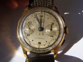 Schöner Nobel Chronograph Bild