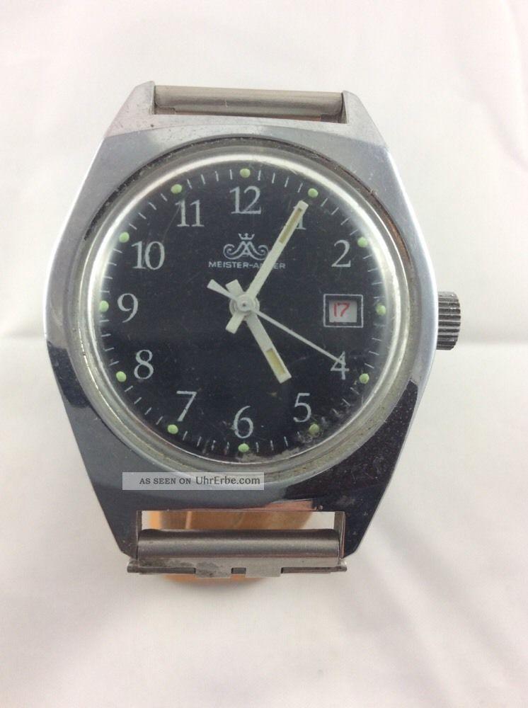 Anker Meister Anker Hau Mit Rotem Datum Armbanduhren Bild