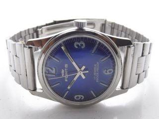 Fortis Swiss Armbanduhr Handaufzug Mechanisch Vintage Sammleruhr 145 Bild