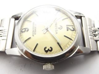 Tressa Swiss Armbanduhr Handaufzug Mechanisch Vintage Sammleruhr 143 Bild