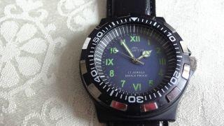 Fortis Handaufzug,  Diver Style,  Uhrwerk Fhf Kal.  96 Bild
