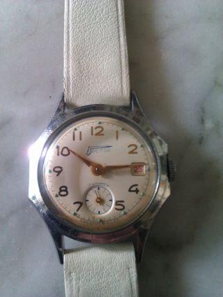 Sowjetische Armbanduhr Wostok Handaufzug Kaliber 2605 Bild
