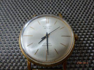 Poljot De Luxe 23 Jewels Shockproof Uhr Bild