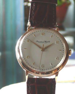 Iwc Armbanduhr 1950er Jahre Bild