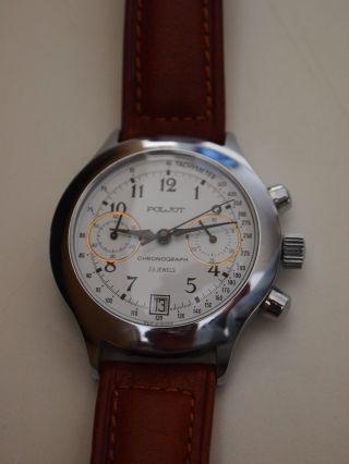 Chronograph 3133 Sammler Valjoux Hau Poljot Hau Nos Russian Watch Bild