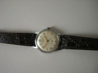 Osco Parat Armbanduhr,  Handaufzug,  Edelstahlgehäuse,  Unisex Bild