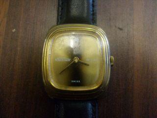 Mentor De Luxe Armbanduhr Handaufzug Bild