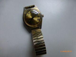 Alte Anker Herrenuhr,  Vintage/retro,  Handaufzug,  Teilvergoldet, Bild