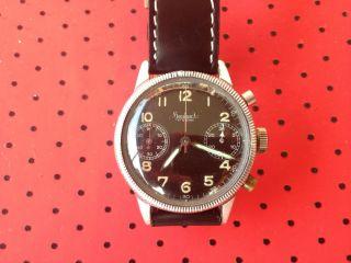 Hanhart Chronograph Handaufzug 50ziger Jahre Typ 417 Bild
