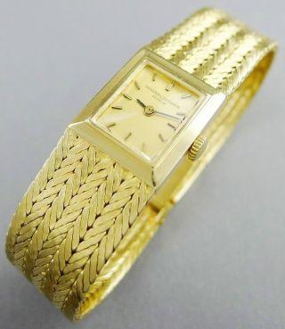 Feine Vacheron & Constantin Damenuhr 750 Gold - Referenz 6597 - Um 1920 - Rar Bild