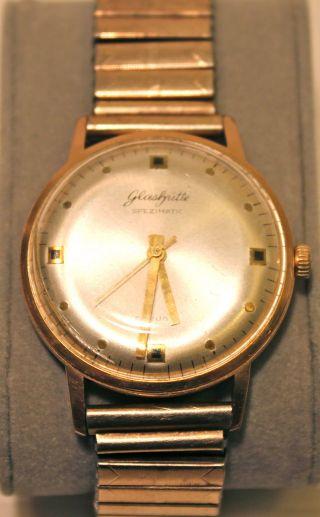 Armbanduhr Glashütte Spezimatic 26 Rubis Bild
