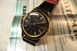 Re Watch Nos Alte Herren Armbanduhr Kal.  Eb 8810 - 60/70 ' Er J.  Top Zust. Bild