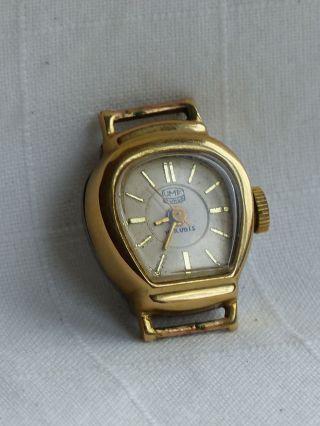 Armbanduhr Analog Umf Ruhla 15 Juwels Handaufzug Bild
