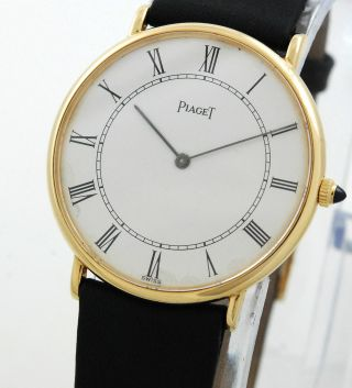 Piaget Ultra Silm Ref: 9035 18kt / 750er Gold Handaufzug Bild