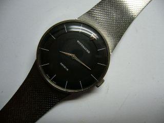 Wittnauer/longines Geneve Herrenuhr Vintage Selten Topdesign Bild