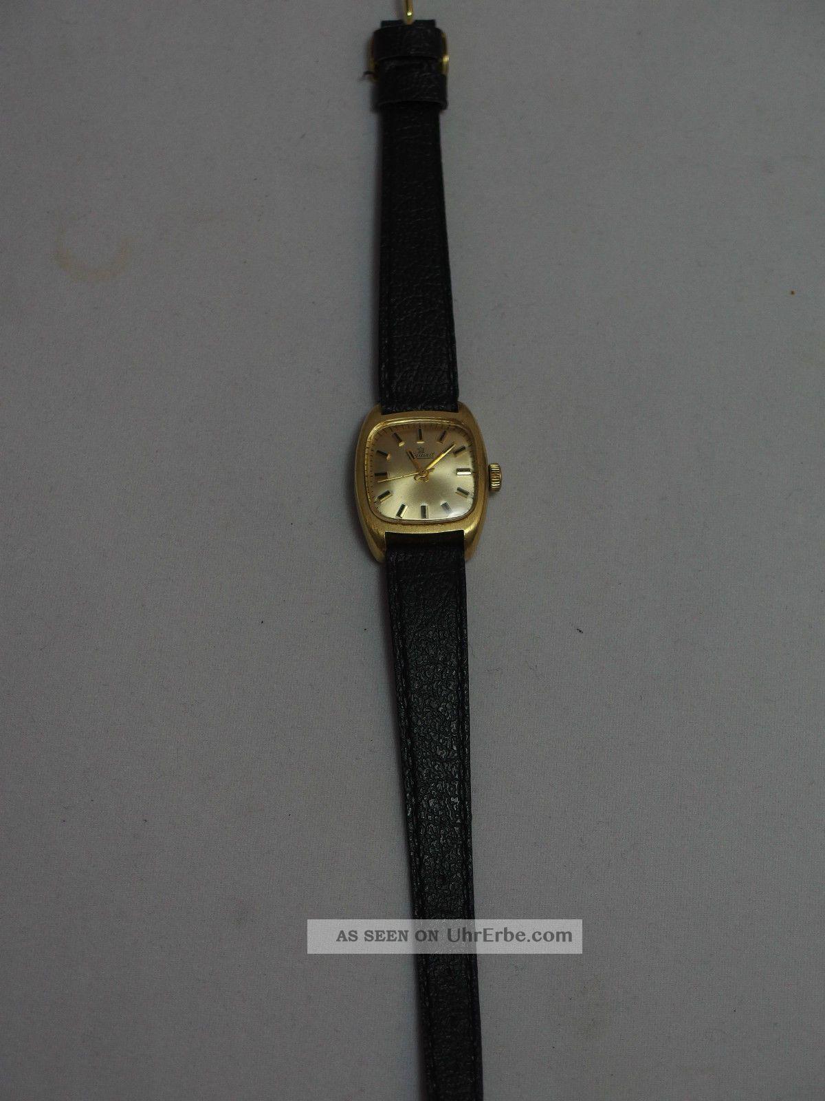 Exquisit Damenuhr Aufzugsuhr Vintage Retro /a3 Armbanduhren Bild