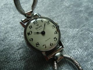 Precimax Swiss Made Damen - Uhr Mit Mechanik Werk Voll FunktionstÜchtig Bild