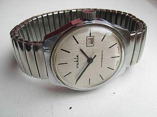 Herren Armbanduhr Ruhla Ddr Handaufzug Bild