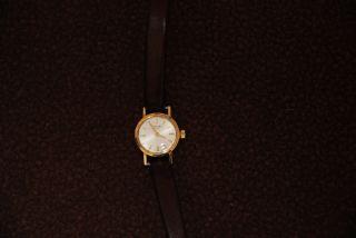 Longines,  Vintage,  750 Gold Massiv,  Kaliber 410,  Referenz 7650 Bild