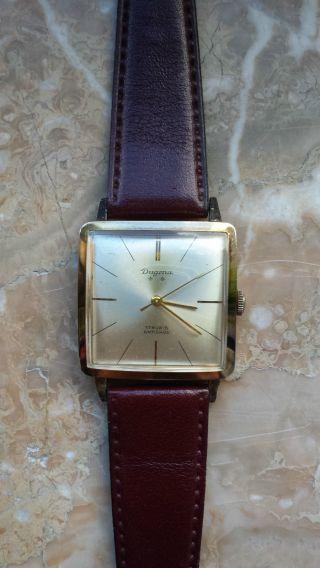 Dugena Handaufzug Armbanduhr Bild