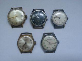 Konvolut Kienzle Uhren Handaufzug Bild