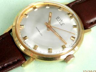 Bwc - Swiss °°° Sehr Elegant Im °°° 20 Micron Gold Plating Bild