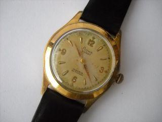 Stowa Parat,  Armbanduhr,  Handaufzug,  Vergoldet,  Kaliber Parat 52 Bild
