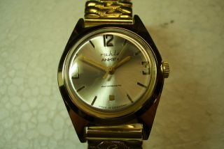 Ruhla Anker Nos Alte Herren Armbanduhr 70 ' Er J.  Werks - Kal.  Sehr Guter Gebr Zust. Bild