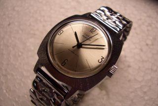 Ruhla Anker Nos Alte Herren Armbanduhr 70 ' Er J.  Kal.  24 - 00 Sehr Guter Gebr Zust. Bild