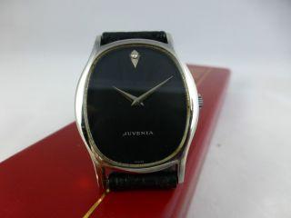 Juvenia Mfg 1115,  Handaufzug,  Edelstahl,  Uhrenbox,  Vintage 1920 - 70 Bild