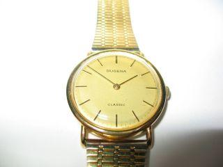 Herren Uhr - Dugena - Kaliber 3808 - 17 Jewels - Handaufzug - 60er Jahre Swiss Bild