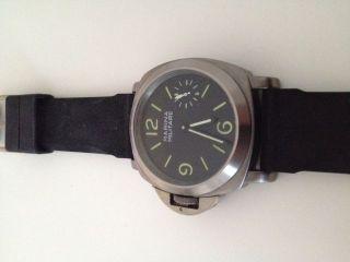 Herren Armbanduhr - Marina Militare 44 Mm,  Lefthand,  Mattiert - Handaufzug Bild